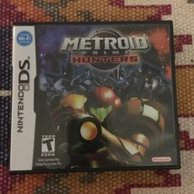METROID Prime Hunters Nintendo DS Full Authentic Game Complete - $35.59