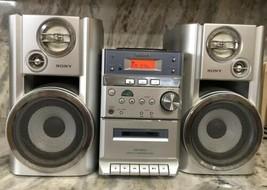 Fixer Upper Sony HCD-EP313 Micro Hi-Fi Stereo System CD-Cassette Needs R... - $147.39