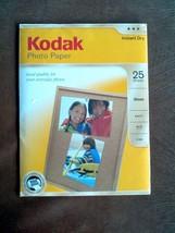 NIP Kodak Photo Paper 6. mil Gloss, 8-1/2 x 11in. 25 Sheets Pack CAT 191 2369 - $13.51