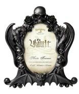 Alchemy Gothic Black Nosferatu Photo Frame 4X6 Skulls Dragons Bat Roses ... - $28.95