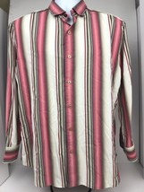 Tommy Bahama Mens XL Multicolor Long Sleeve Button Up Shirt - $28.05
