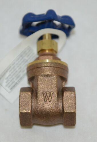 Watts Regulator 0770030 Three Quarter Inch WGV Brass Gate Valve