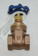 Watts Regulator 0770030 Three Quarter Inch WGV Brass Gate Valve image 1