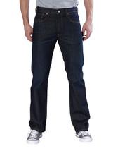 Levi's Men's Original Fit Straight Leg Jeans Button Fly Clean Fume 501-0536