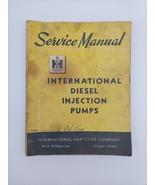 International Fuel Injection Pumps Parts Manual  IH Diesel Engines - $12.30
