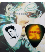 2 ELVIS PRESLEY GUITAR PICKS, New - $5.95