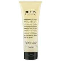 Philosophy Purity Made Simple Foaming 3-in-1 Cleansing Gel For Face & Ey... - $22.82