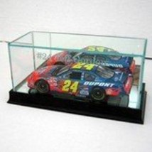 Glass NASCAR Die Cast 1/24 Scale Display Case with Cherry Wood Molding - $52.86
