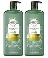 (2 Pack) Herbal Essences Potent Aloe + Hemp Frizz Control Conditioner 20... - $31.67