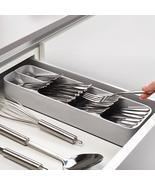 2019 Useful Kitchen Drawer Knife Fork Spoon Tray storage box Cutlery Dra... - $58.72