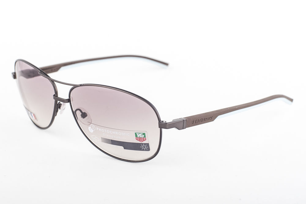 Primary image for Tag Heuer Automatic 884-115 Dark Brown Light Blue / Brown Sunglasses TH0884 115