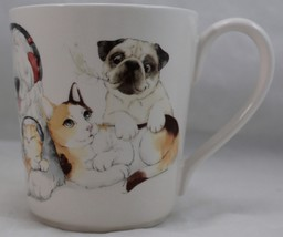 Pier 1 Imports Pets/Cats/Dogs/Puppies/Kittens Coffee/Tea/Cocoa Mug Cup L... - $28.70