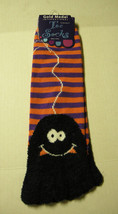 Ladies Toe Socks by Gold Medal, Black Spider Design, Size 9-11, Brand New - $6.99