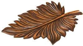 Tray Spiny Leaf Cast Resin Hand-Painted This item will be - $159.00