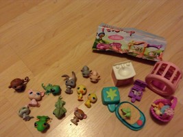 Littlest Pet Shop LPS Animal Figurines Lot Set of 23 Pets and Accessories - $19.80