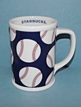 Starbucks Coffee Cup Mug Baseballs 2007 Pre-Owned 16 Oz. (w) - $29.69