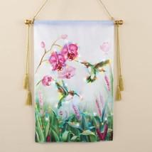 Lighted Garden Canvas Wall Hanging Hummingbird Home Indoor Printed Art P... - €20,19 EUR