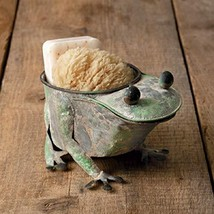 CTW Home Collection 440057 Rusty Frog Planter (1) - $50.68