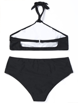 Women's Halter Plus Size Two Pieces Bikini Set image 4