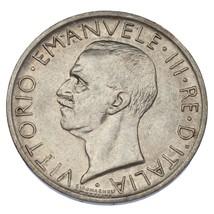 1927-R Italie Argent 5 Lire En Au État Km #67.2 - $29.50