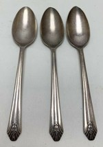 "Lot Of 3 Wm Rogers Sectional International Silver Imperial Teaspoons 6 1/8"" - $14.85"