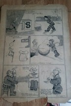 Early Original Antique Comic Cartoon Art F.A. Welch. 1917. Full Page. #3 - $94.05