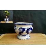 Porcelain Vintage Bonsai pot - Handmade Special for collectors - $52.96