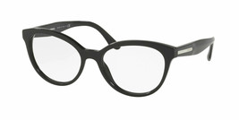 New Prada Eyeglass Frames PR05UV 1AB1O1 Black for Women Size 52 optical ... - $376.20
