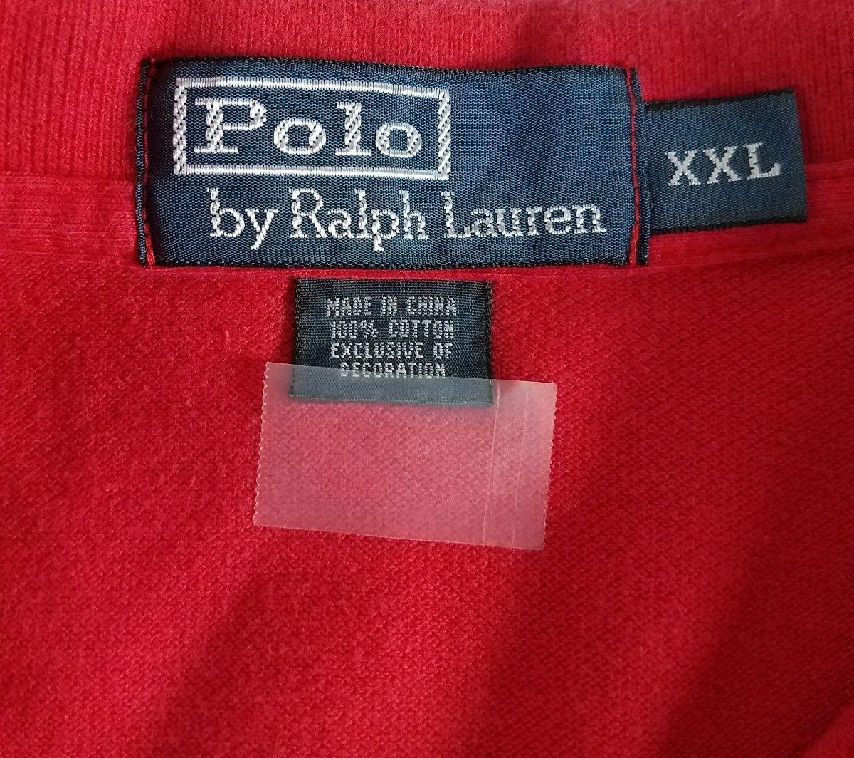 Ralph Lauren Polo Shirt mens shirt Size XXL red