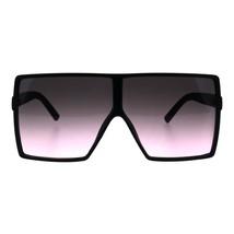 Womens Super Oversized Sunglasses Square Shield Frame UV 400 - $11.95
