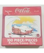 "Coca-Cola Jigsaw Puzzle 100 Piece Polar Bear 9"" x 12"" - $15.88"