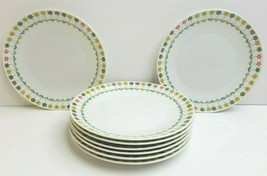"8 Emilio Pucci Rosenthal Piemonte 7 1/2"" VTG Bread Salad Dessert Germany Plates - $108.57"