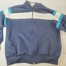 Trent Trent Trent Sport Track Jacket Size M Stripes Zip Up Sweatshirt - $27.12