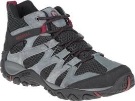 Merrell Alverstone Mid Waterproof Hiker Boot (Men's) in Castlerock Suede... - $122.81