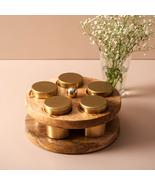 Modish Masala Box, Spice rack, Spice cabinet organizer, Anjarai petti - $135.00