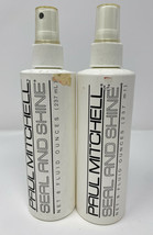(2) Paul Mitchell Seal And Shine Spray - 8 oz Each - $59.99