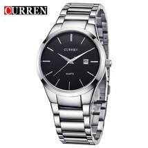 CURREN Luxury Classic Fashion Business Men Watches Display Date Quartz-watch Mal - $30.85