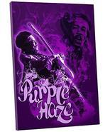 "Pingo World 1223PLSHQIY ""Radio Days 'Purple Haze'"" Gallery Wrapped Canva... - $59.35"