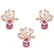 Tree of Life Jewelry Set Embellished with Crystals from Swarovski Incl Necklace - $21.49