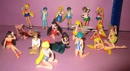 Huge Sailor Moon Wicked Lady Swimsuit Gashapon Bandai 15+ Figure PVC Toy... - $100.00