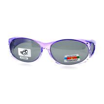 Rhinestones Polarized Fit Over Glasses Sunglasses Ombre Oval Frame Black... - $11.95