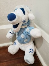 "Disney Store 14"" White Tigger Plush in Winter Sweater Holiday - $19.34"