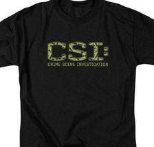 CSI t-shirt TV crime drama collage logo 100% cotton graphic tee CBS946 image 3