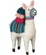 """7"""" Felt Llama Alpaca Quilt Harness Decorative - $13.95"""