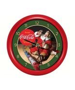 Coca-Cola Santa with Train Clock - $14.95