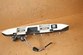08 09 Enclave Acadia Rear Back Up Reverse Camera w/Tail Finish Panel Trunk Trim image 5