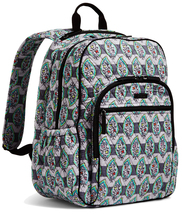 Vera Bradley Signature Cotton Campus Tech Backpack, Paisley Stripes image 5