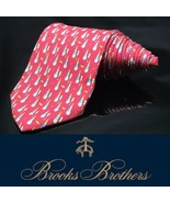 Brooks Brothers Makers Neck Tie Champagne  Drink Party Celebrate Tie - $28.81