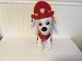 "NOrthwest Dalmatian Paw Patrol Fire Men Firemen Large Plush Dog 17"" tall... - $16.69"