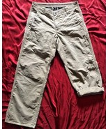 prAna Hiking Roll-Up Snap Convertible Cargo Pants Gusseted Crotch Size 3... - $37.39